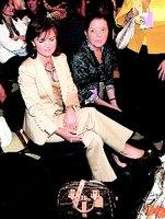 Carmen Calvo con su bolso de Louis Vuitton falso